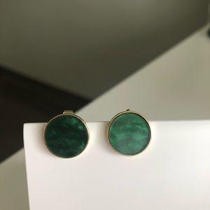 Oak and Fort Green Stud Earrings
